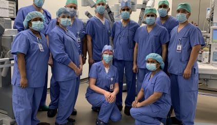 Sheikh Shakhbout Medical City performs its first robotic surgery