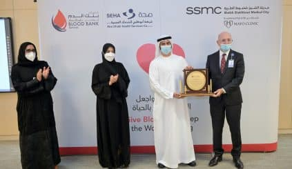 SEHA commemorates regular blood donors and celebrates the health of recipients